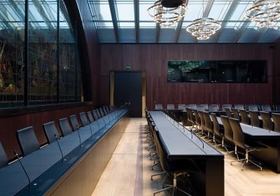Konferenzräume im Parlamentsgebäude Bern