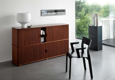 rolladen schrank 2 r thlisberger kollektion schweizer designerm bel. Black Bedroom Furniture Sets. Home Design Ideas