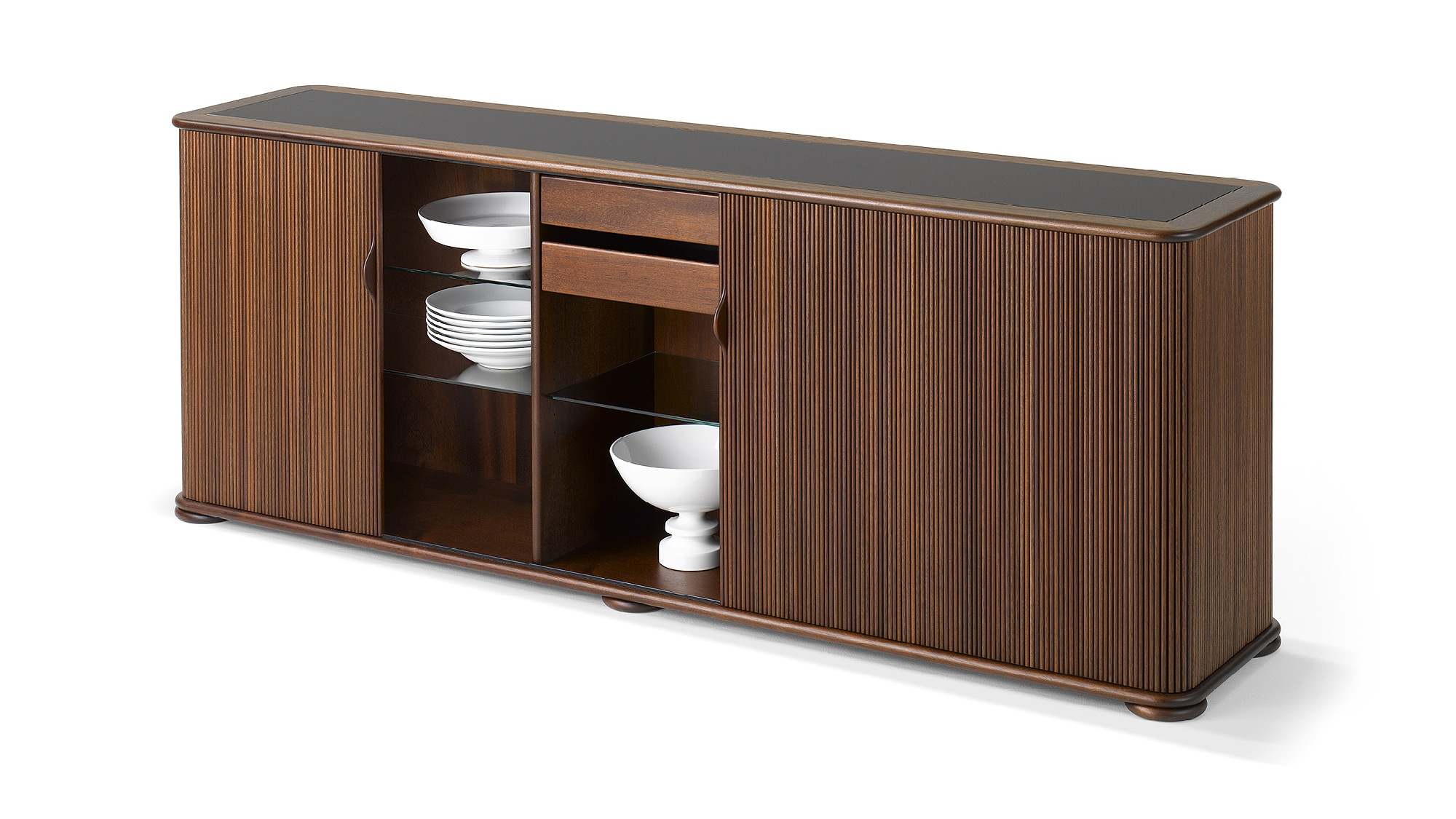rolladen sideboard r thlisberger kollektion swiss. Black Bedroom Furniture Sets. Home Design Ideas